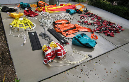 Several different styles of Storm Drogues are available in oder to suit any type of trawler.